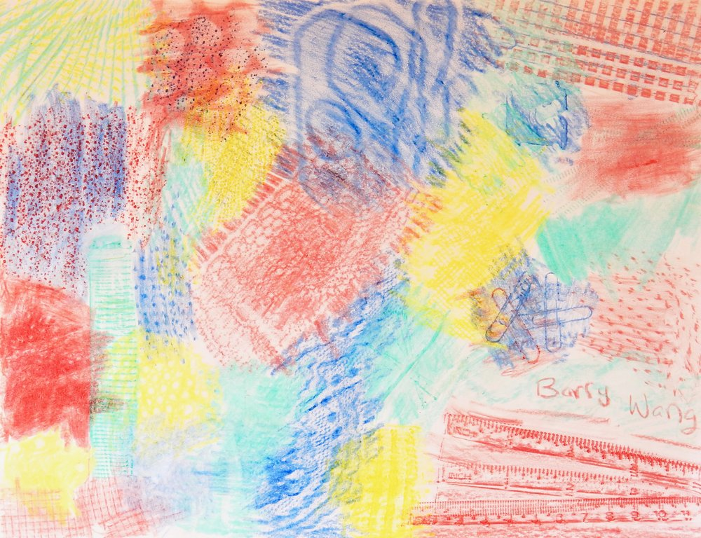 Barry Wang.11yrs.crayon rubbing