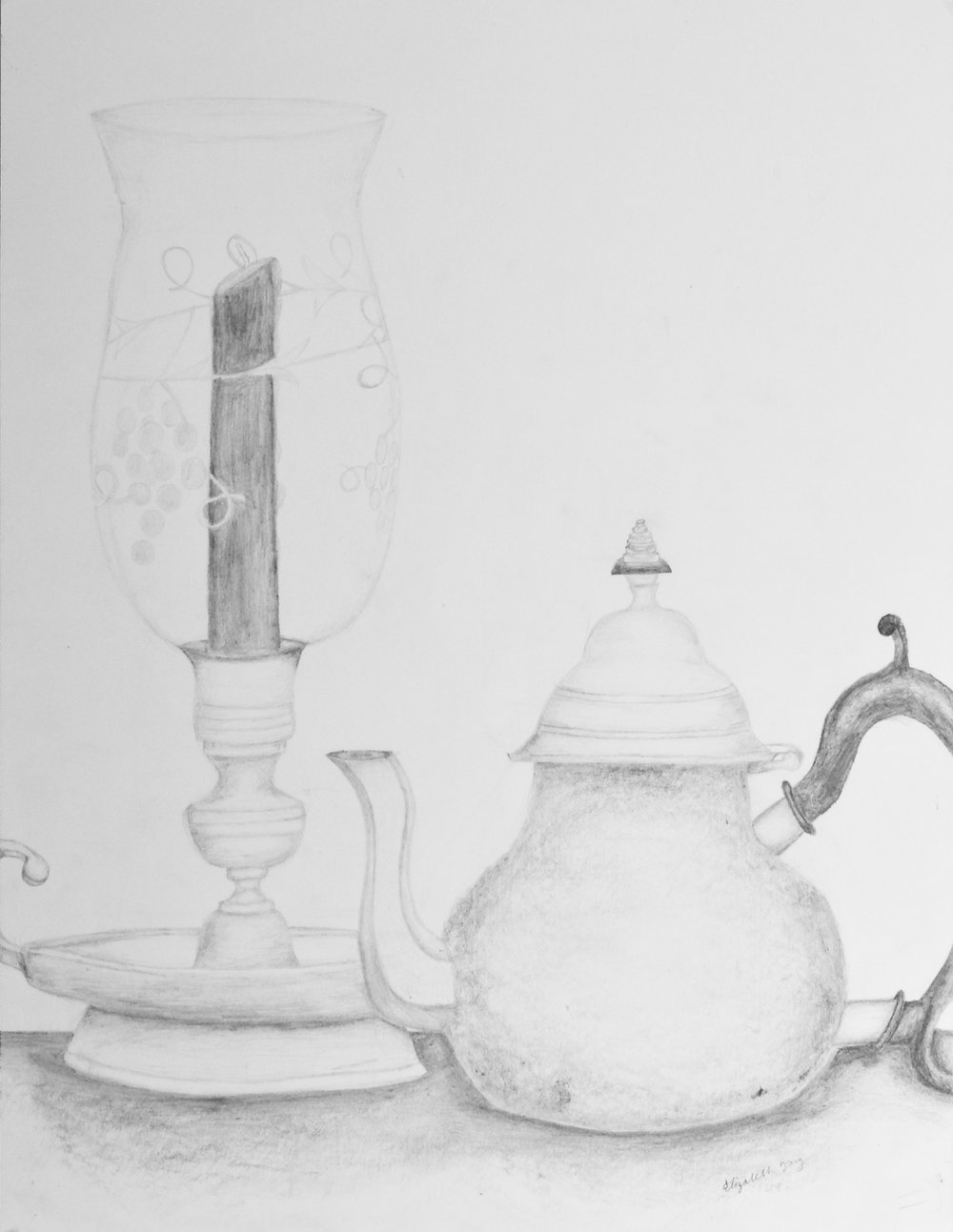 Elizabeth Tang.12yrs.pencil still life