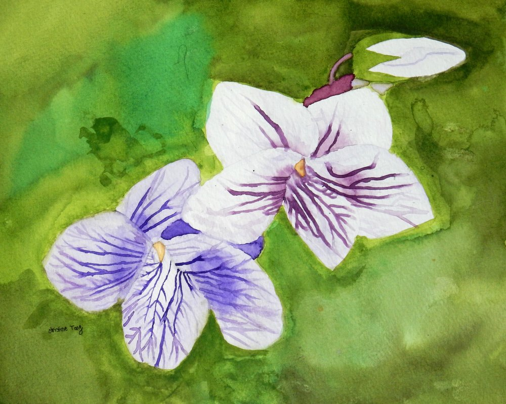 Christine Tang.9 yrs.watercolor