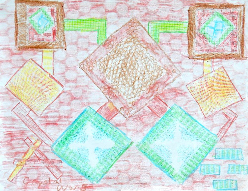 Crystal Wang.9 yrs.crayons
