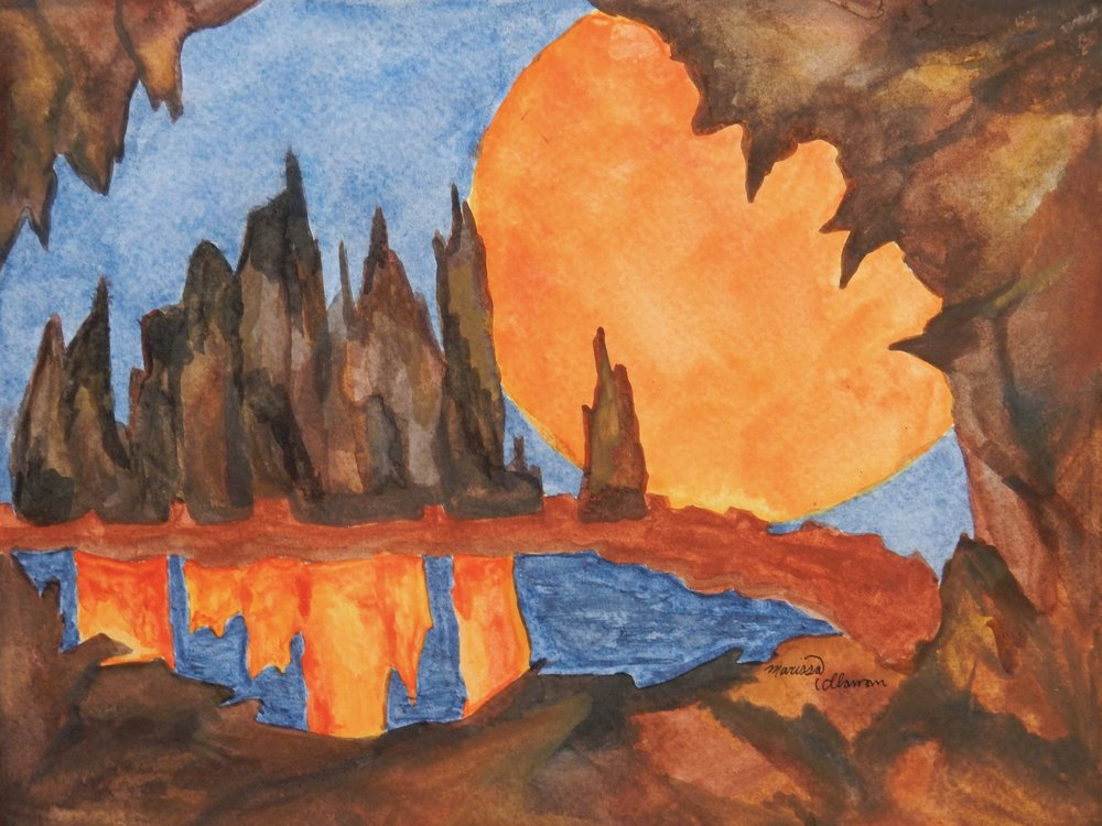 Marissa Callanan.17yrs.watercolor
