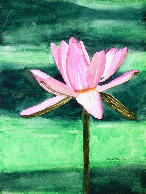 Mariana Ma.12 yrs.watercolors