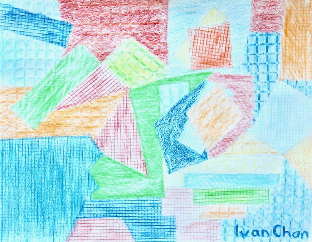 Ivan Chan.8 yrs.crayon