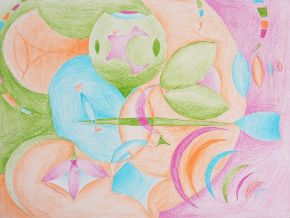Emma Kaufmann.13 yrs.colored pencil