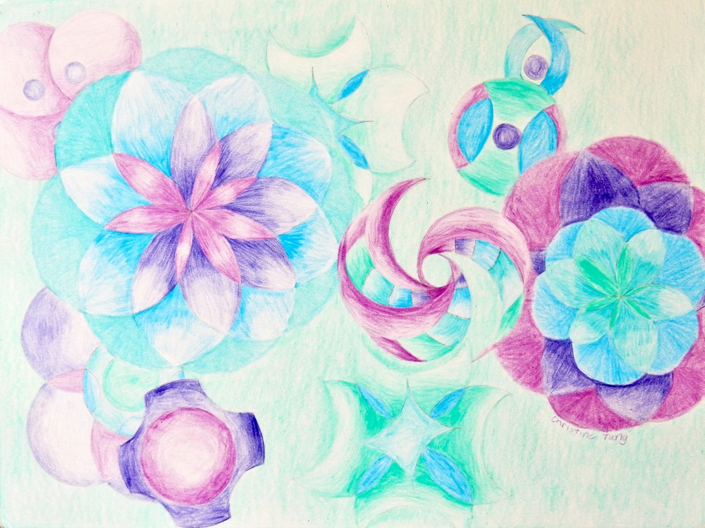 Christine Tang.6th grade.colored pencil