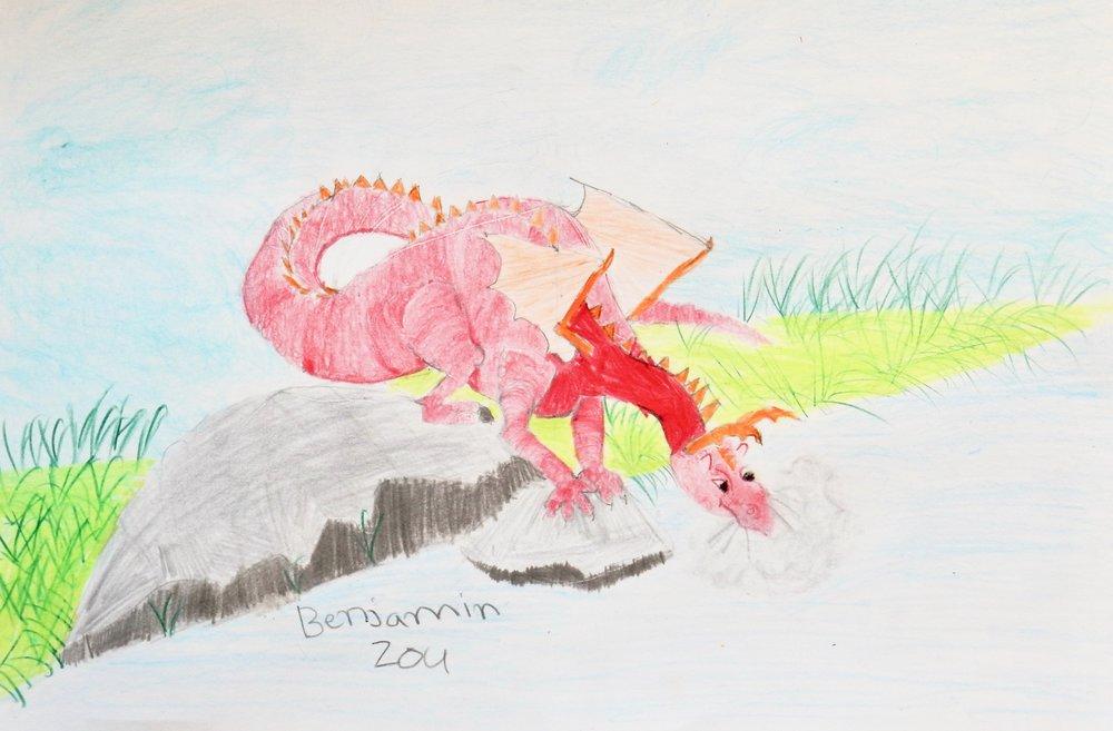 Benjamin Zou.9 yrs.colored pencil