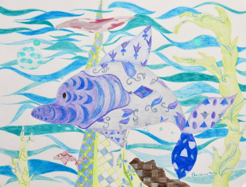 Christine Tang.11 yrs.colored pencil