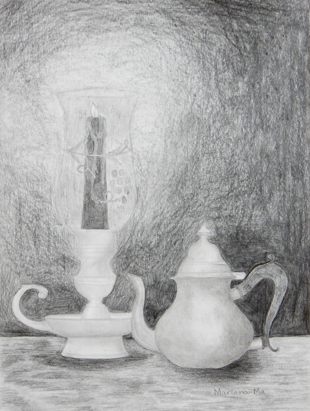 Mariana Ma. 13 yrs. pencil
