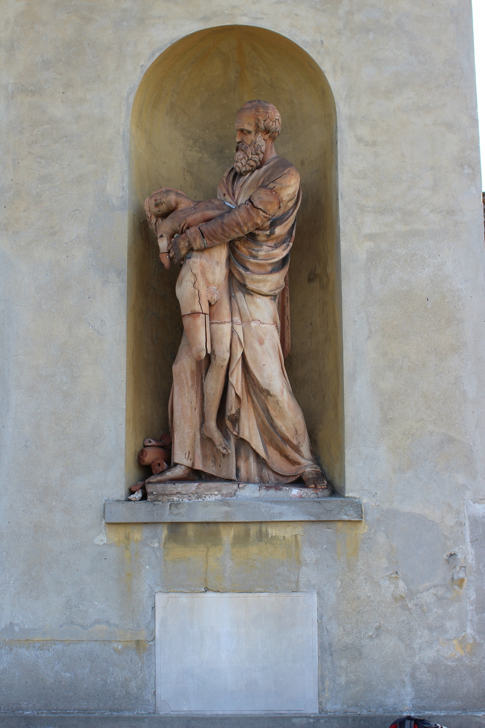 Statue of Abraham and Isaac