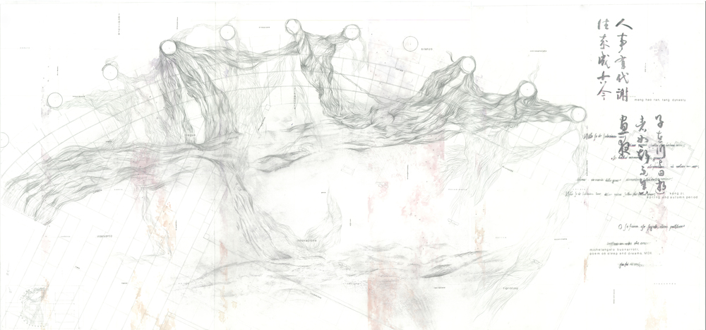 Background drawing, combined layer