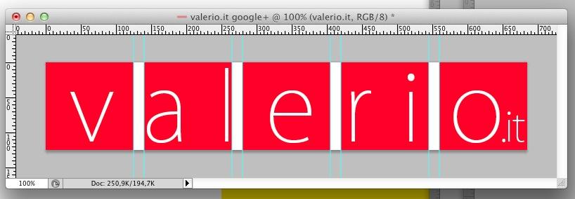 immagine di spezzata per il profilo Google+