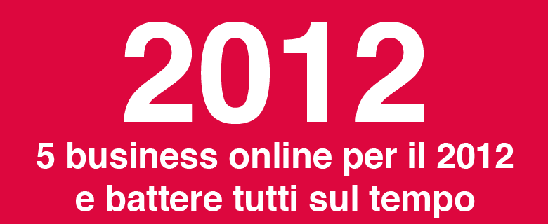 5 business online per il 2012