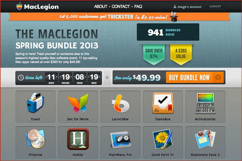 MacLegion Bundle 2013