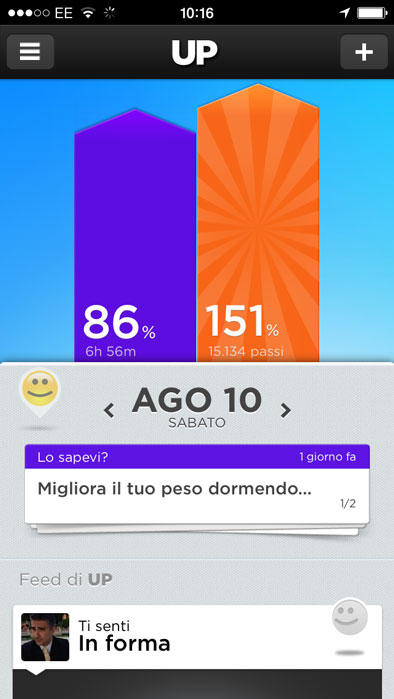 up di jawbone iphone app bio-ritmo