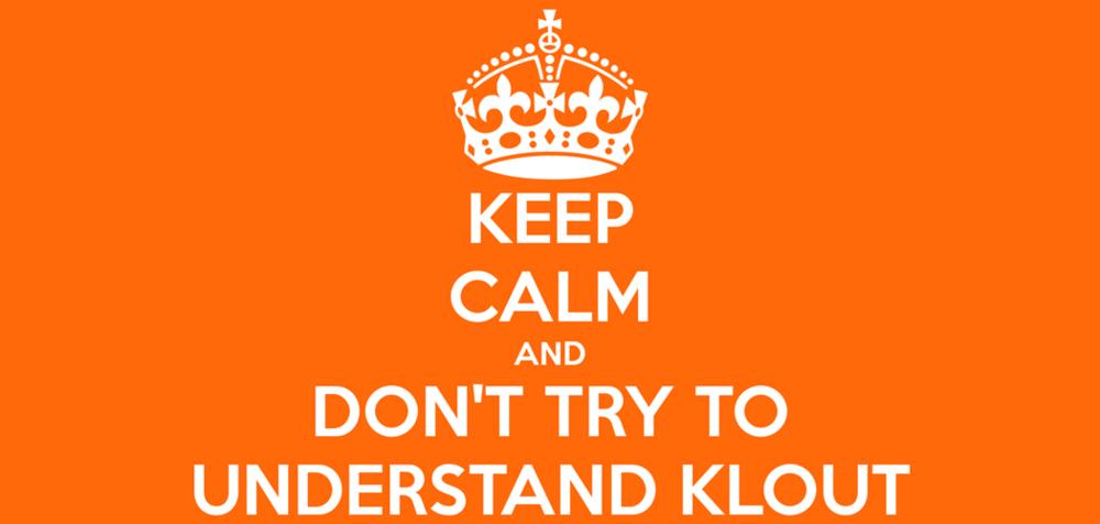 Perché devi usare Klout