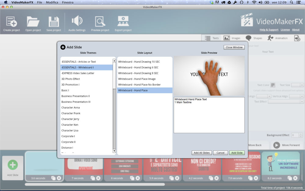 VideoMakerFX - Templates