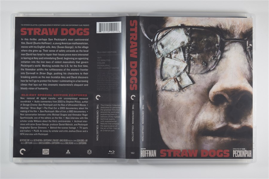 Remastered edition of Dustin Hoffman's 1971 film  Straw Dogs