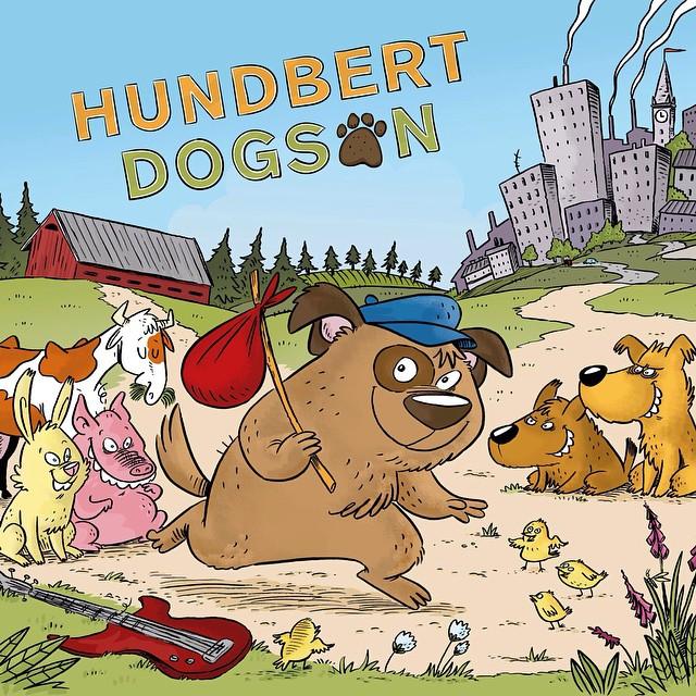 Det här är Hundbert Dogson! Hälsa på honom och hans vänner på www.hundbertdogson.se #denorkestern #barnkultur #barnmusik #hundbertdogson