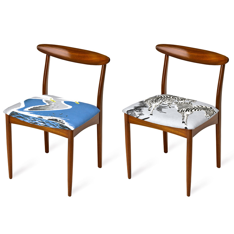 fabric_textiles_bespoke_glasgow_bobbin_fleck_furniture_upholstery_re-upholster_traditional_modern_cane_mid-century_vintage_restore_dining_chair_birds_zebras.jpg