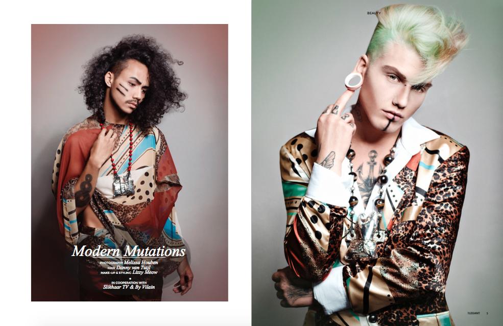 Elements Magazine DVT Hair SlikhaarTV Modern Mutations By Vilain Danny van Tuijl Melissa Houben Carmichael Byfield 1.png