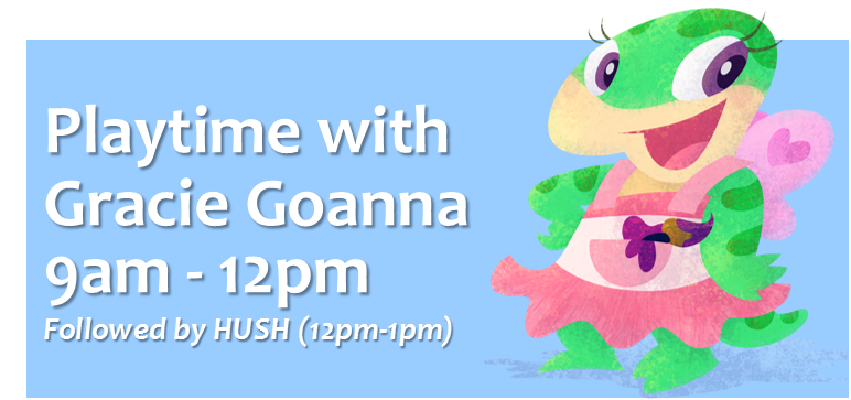playtime with gracie goanna on little rockers radio