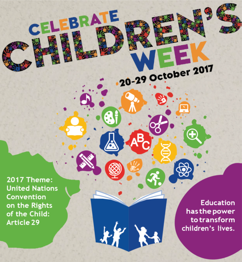 Litle Rockers Radio supports Childrens Week 2017