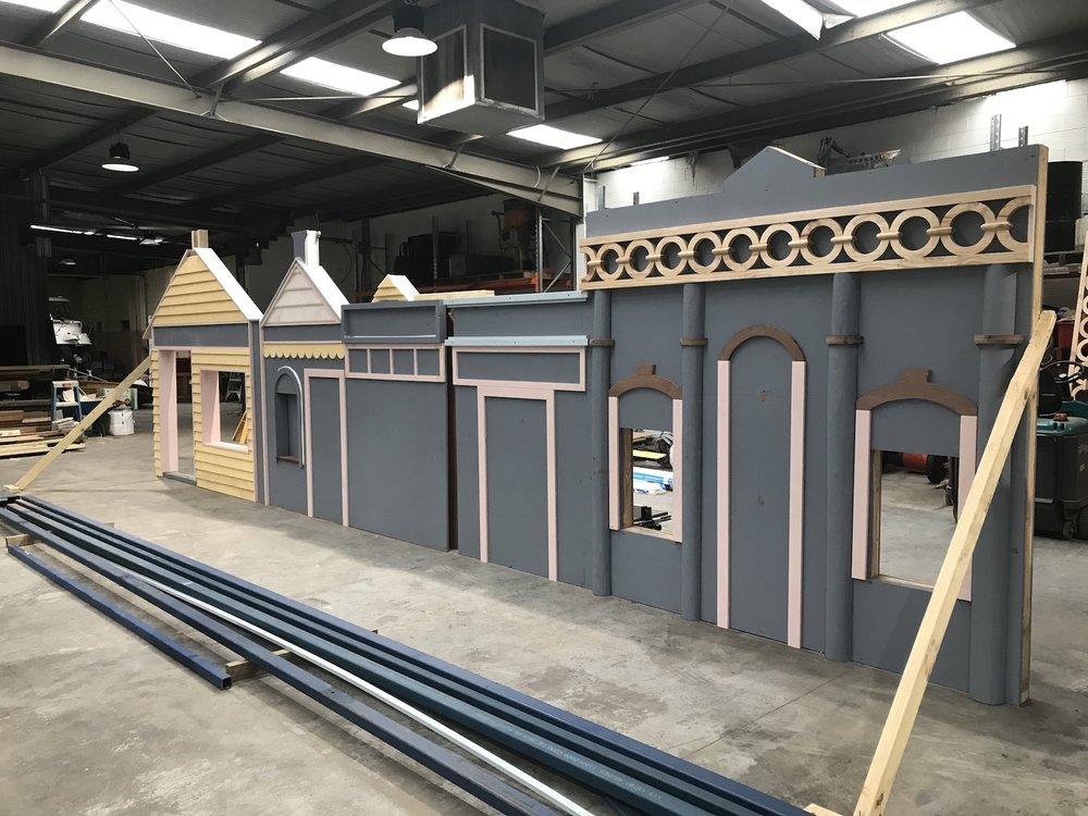 Warrandale factory, Play Space construction site