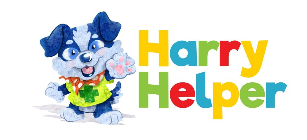Harry Helper First Aid for Kids