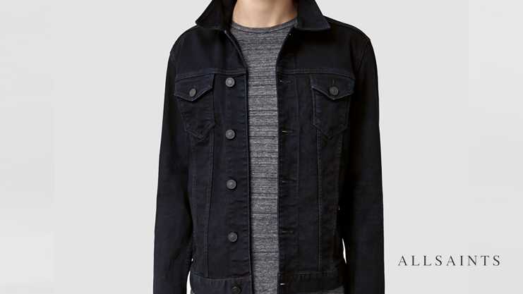 AllSaints Denim Jacket | Sam Squire UK Male Fashion & Lifestyle Blogger