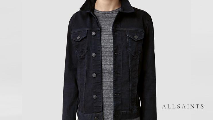 AllSaints Denim Jacket | Sam Squire UK Male Fashion & Lifestyle Blogger
