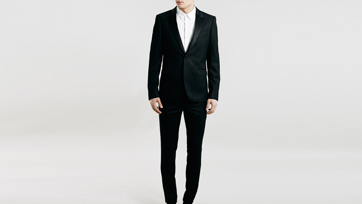 Topman Skinny Tux Suit | Sam Squire UK Male Fashion & Lifestyle Blogger