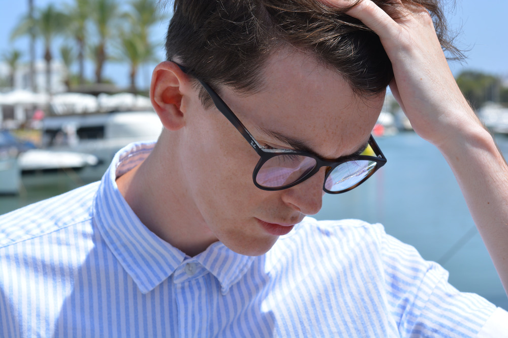 Ray Ban RB7046 Erika Optical Vision Express | Sam Squire UK Male Fashion & Lifestyle Blogger