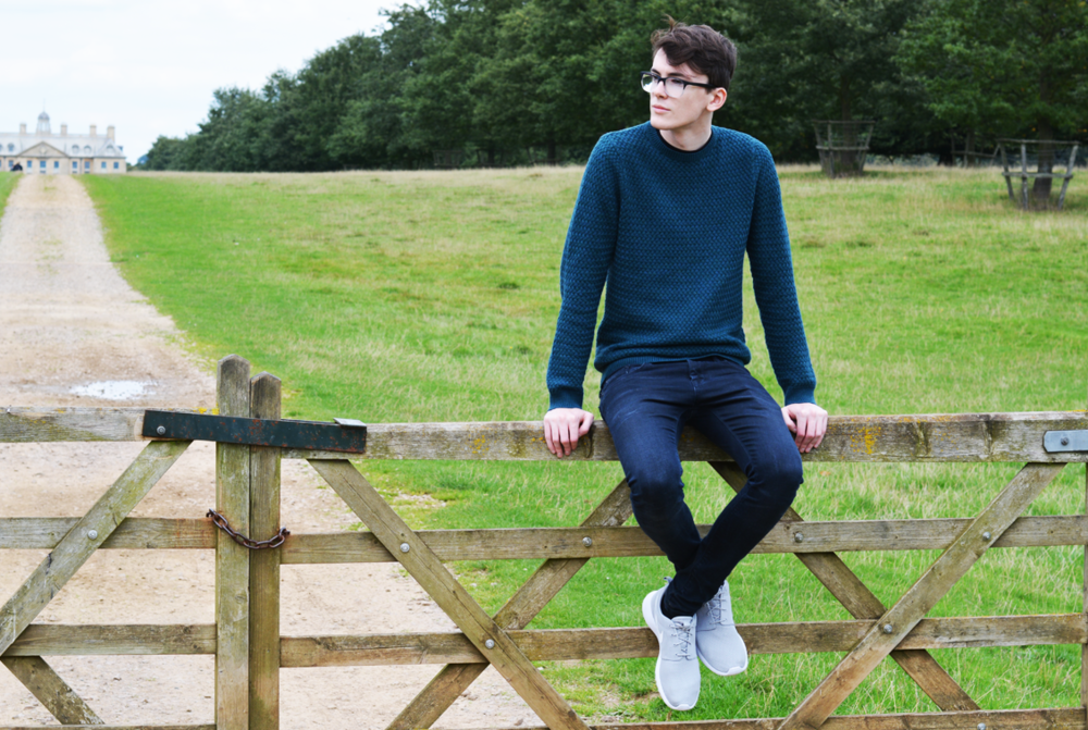 marks & spencer autograph jumper | sam squire uk male fashion blogger