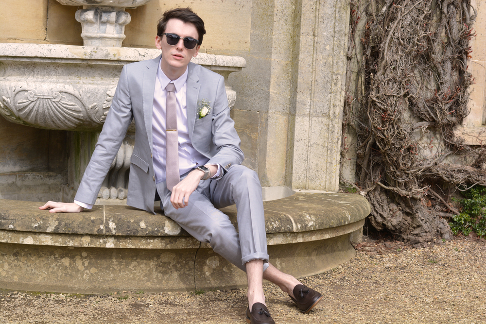 Burton menswear suit | Sam Squire uk male fashion & lifestyle blogger