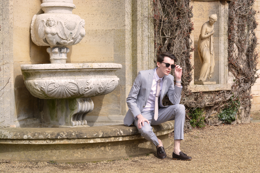 Burton Menswear Wedding Suit | Sam Squire UK male fashion & lifestyle blogger