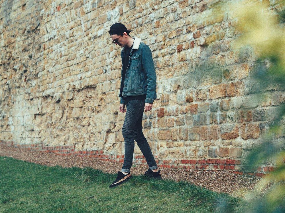 ASOS Denim Jacket Mens | Sam Squire UK Male fashion blogger
