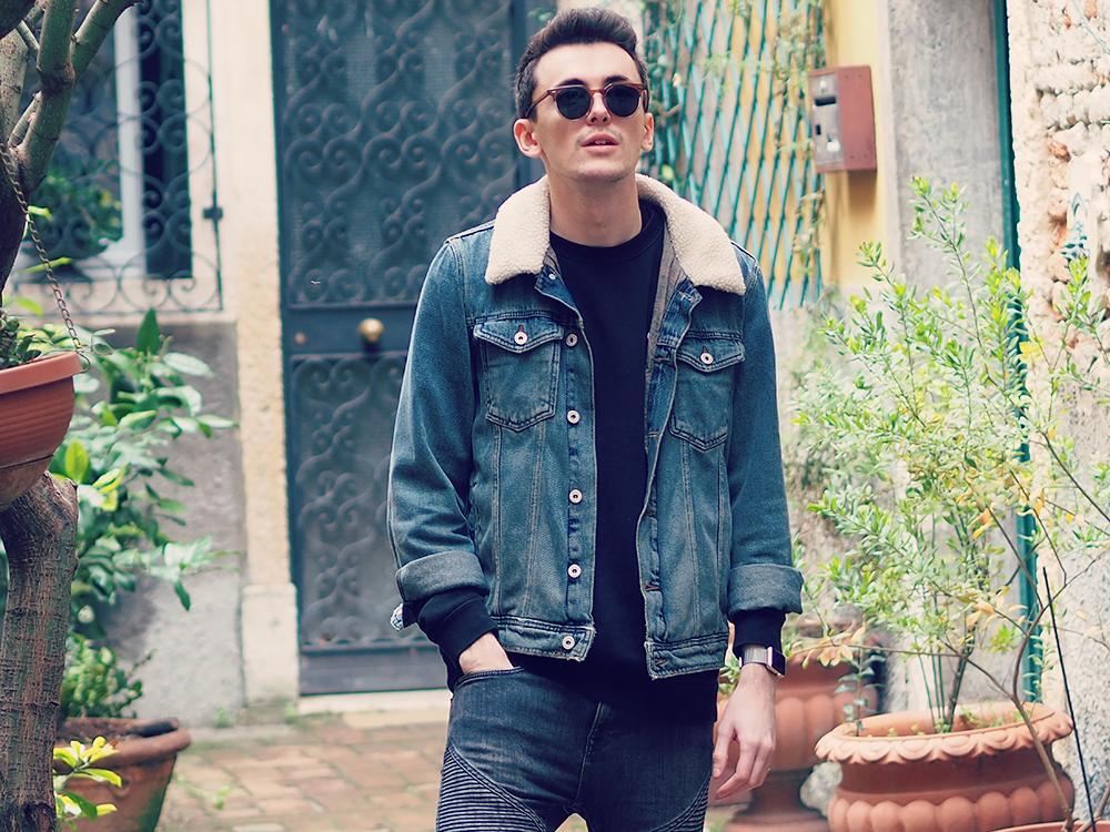 Sam Squire UK Male Fashion Blogger | ASOS Menswear denim jacket