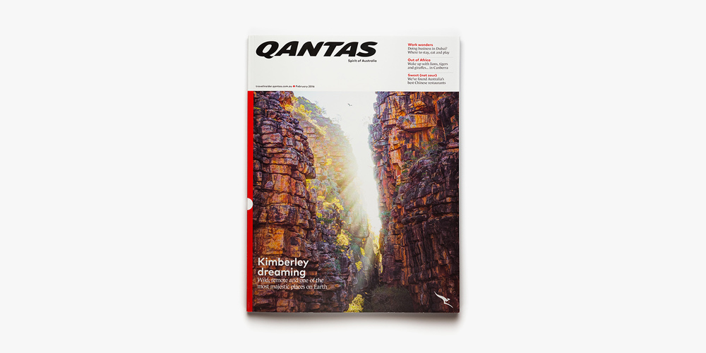 Qantas Magazine - February 2016 (Cover)