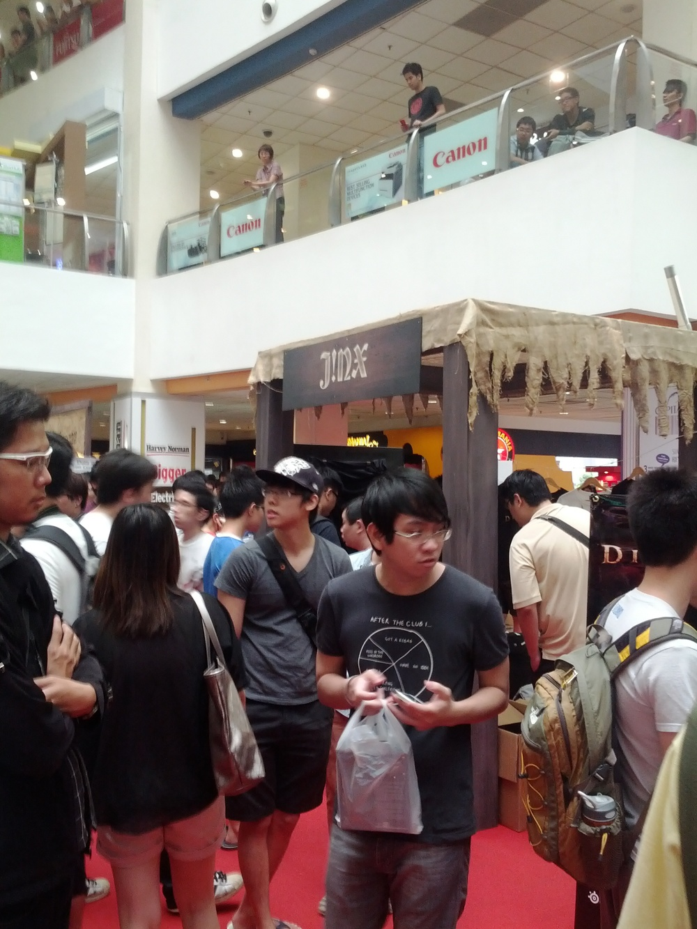 Diablo 3 launch in Singapore