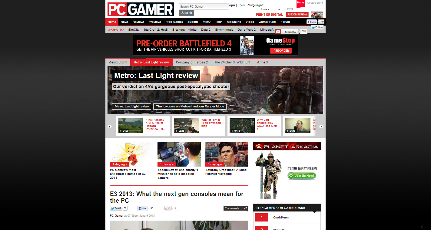 PC Game Reviews  News   Features   PC Gamer