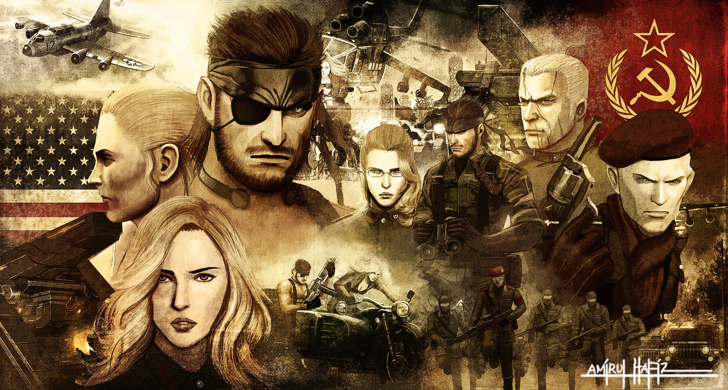 metal_gear_solid_3_snake_eater_poster_by_amirulhafiz-d5d1hd7