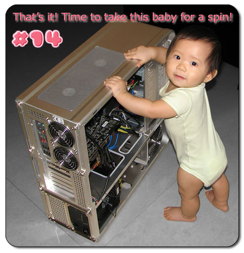 Or you can ask your baby to build your computer for you (Original Source)