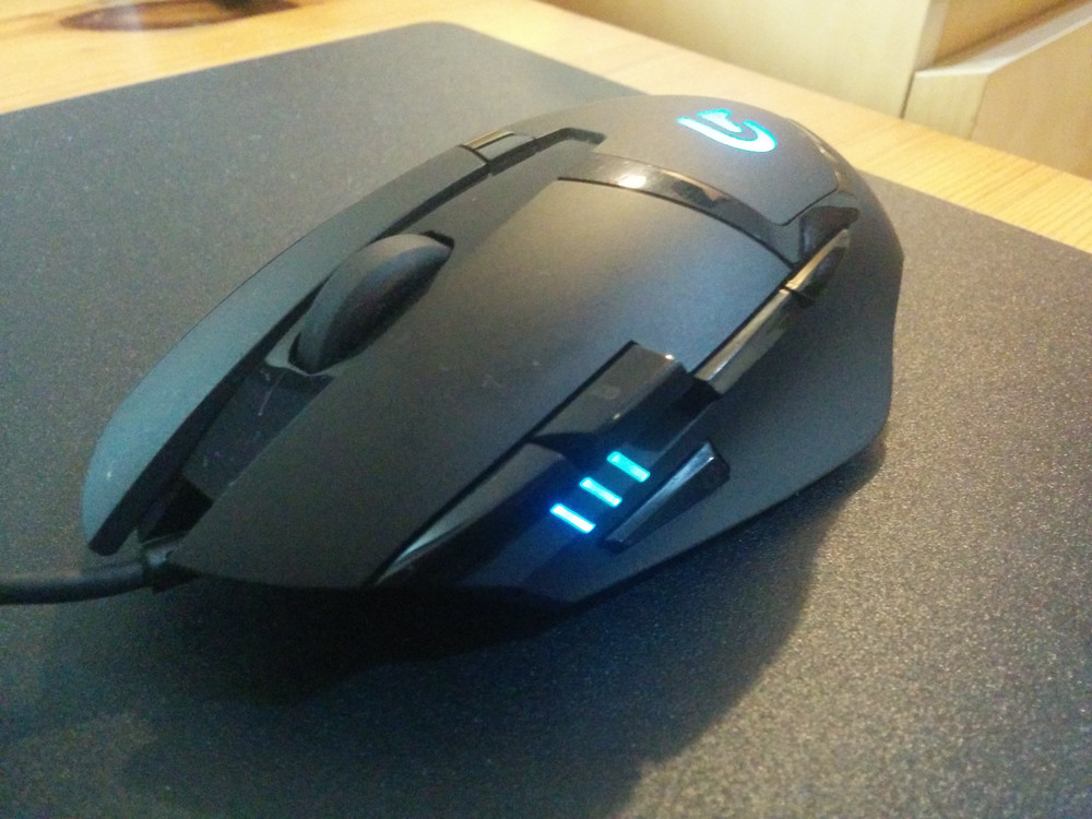 a6a0c8387f8 The Logitech G402 Hyperion Fury -- a mouthful of a name -- is touted as  Logitech's fastest gaming mouse built specifically for FPS gamers.