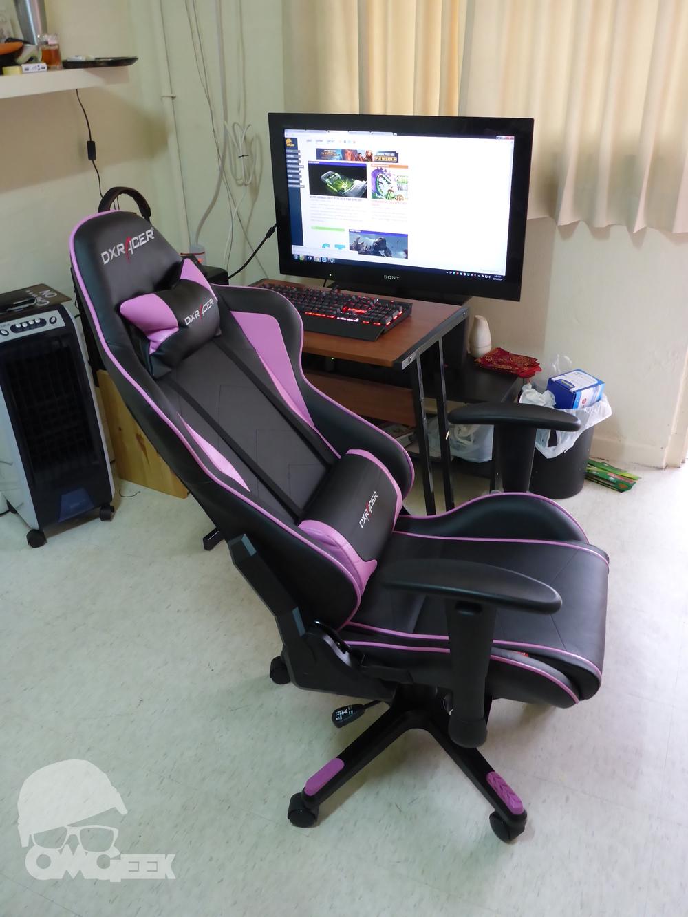 Pink desk chairs - Dxracer Formula Series Review Omgeek