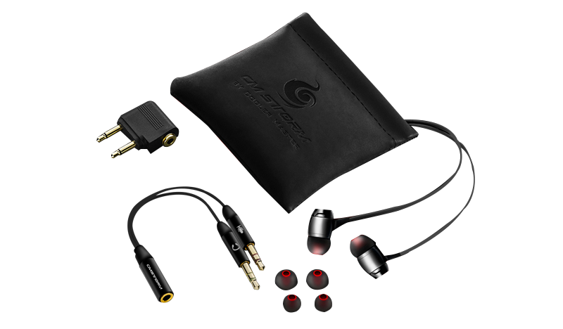06. Comes with high quality pouch bag, airplane adaptor, and silicone ear-tips.