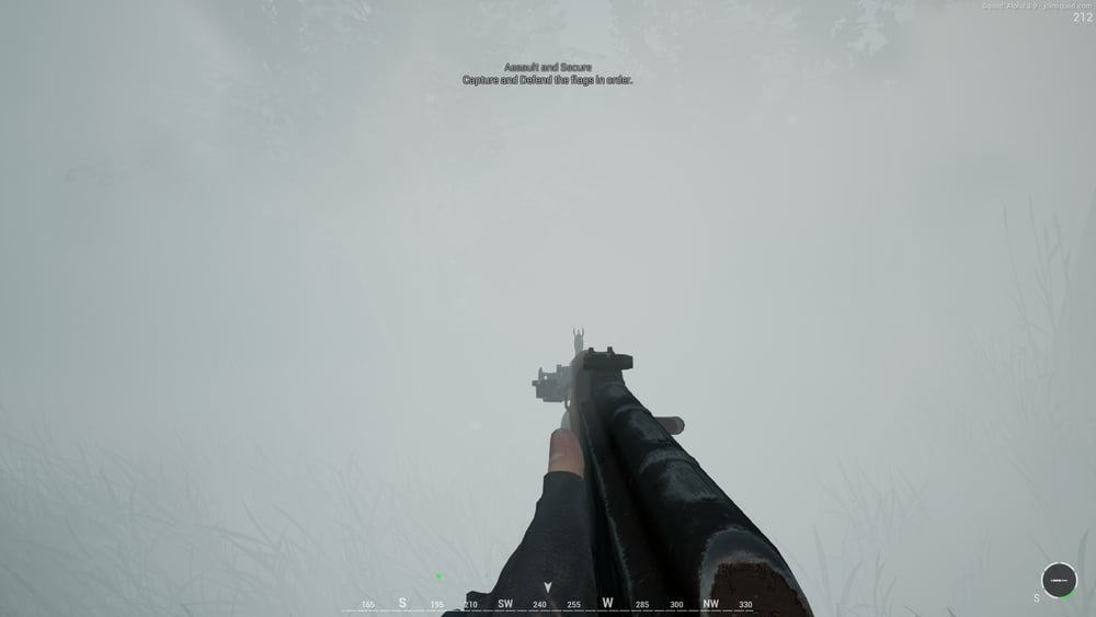 Knowing where your squad mates are in situations like this smoke covered assault saves you from peeling duty