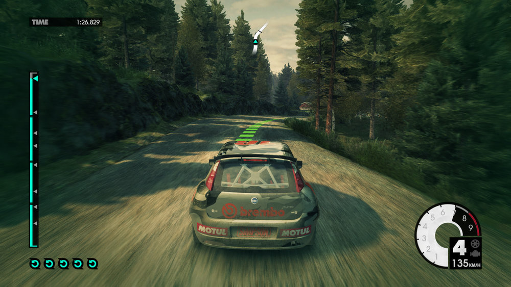 Dirt 3. Pardon the speed stretch. Another game that benefits from G-Sync's anti stutter.
