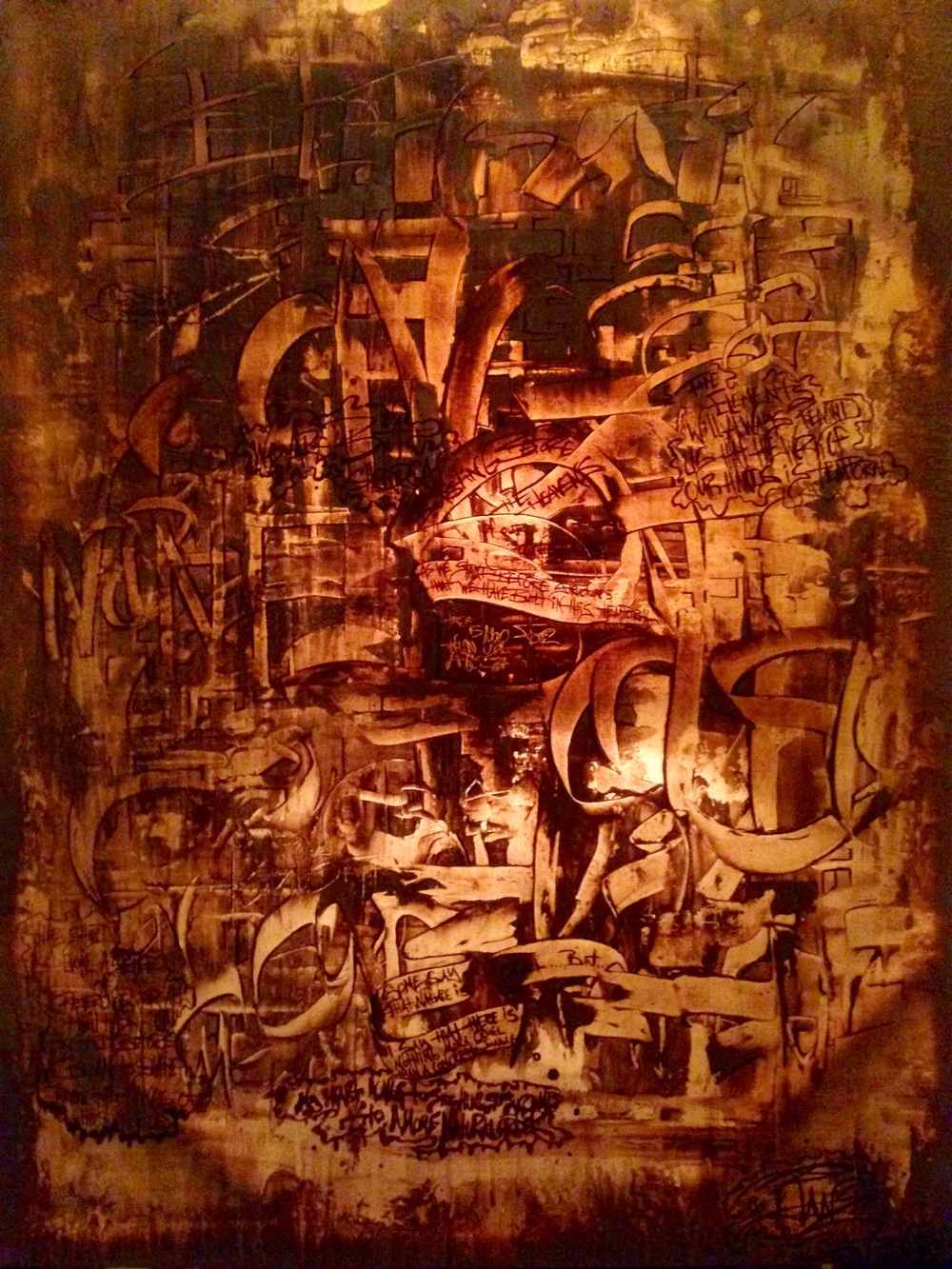 """Concrete Jungle """"illuminated"""""""