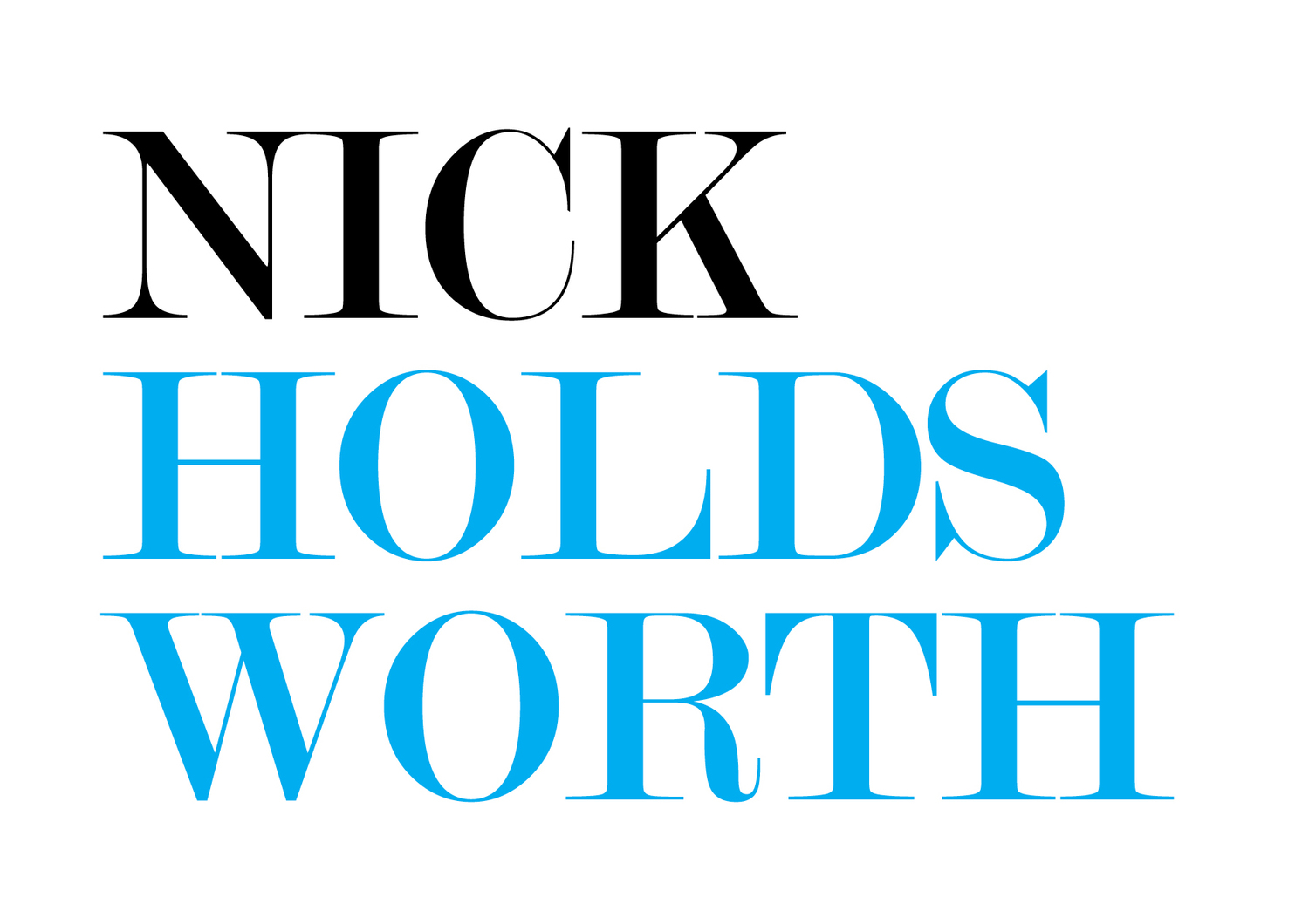 Nick Holdsworth