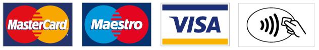 Debit card, credit card, visa, contactless